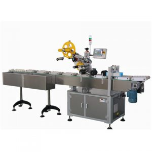 Front And Lateral Print Labeling Machine