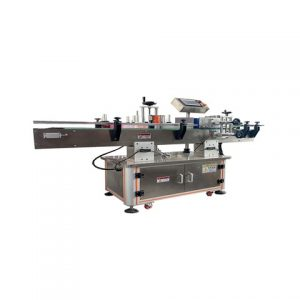 Automatic Top Side Labeling Machine Production Line