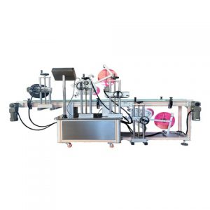 Flat Labeling Machine For Plastic Bags