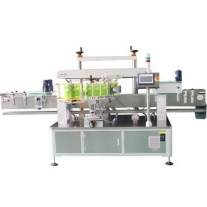 Full Automatic Top Side Box Plane Labeling Machine