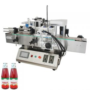 Flask Bottle Labeling Machine