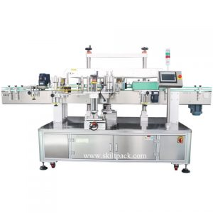 Liquid Glass Round Bottle Wrap Around Labeling Machine