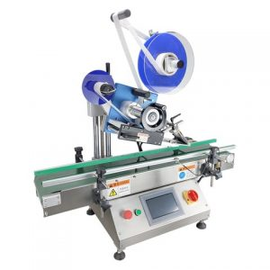 Full Automatic Top And Bottom Sticker Labeling Machine