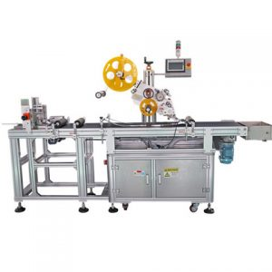 Cans Pet Bottle Labeling Machines With Label Dispenser