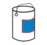 Bucket One Side Labeller